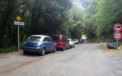 parking pont de siagne