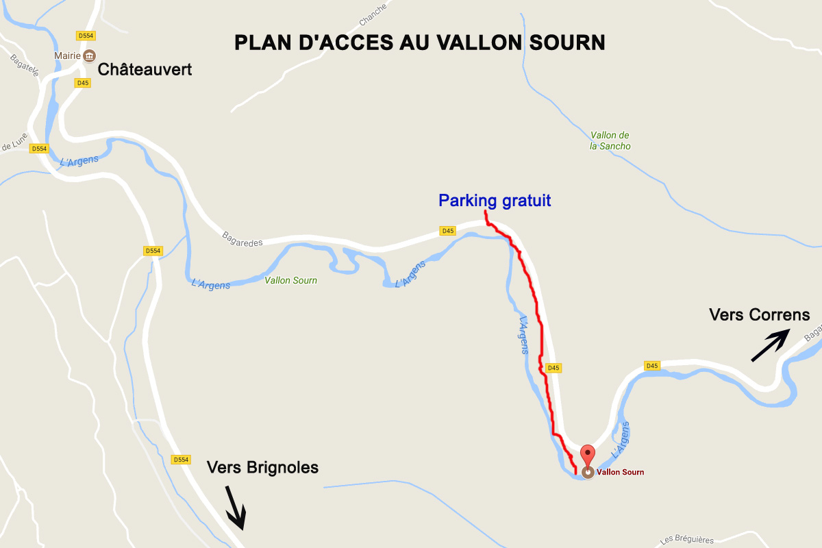 plan acces vallon sourn