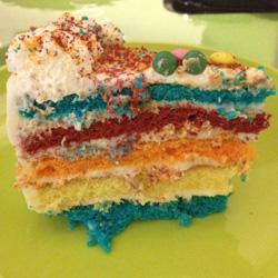 Rainbow Cake Picard Avis