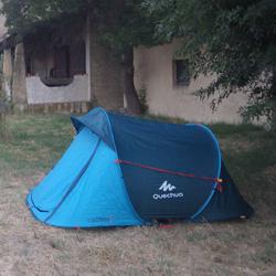 la tente 2 seconds quechua f te ses 10 ans. Black Bedroom Furniture Sets. Home Design Ideas